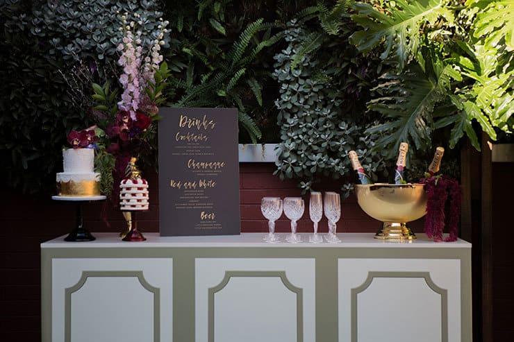 Jewel-Toned Secret Garden Wedding Inspiration   Lola Images