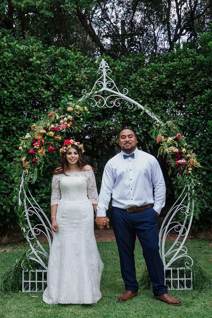 Joyful and Bright Garden Wedding