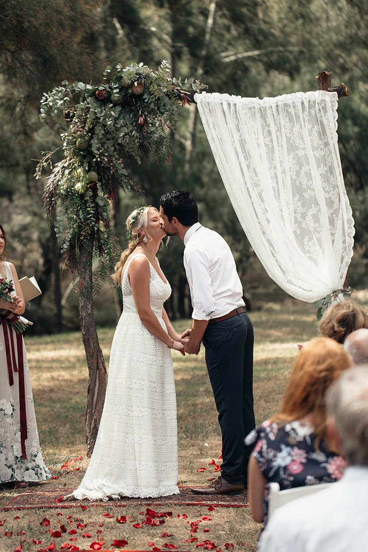 Laid Back Boho Wedding | Jack Henry