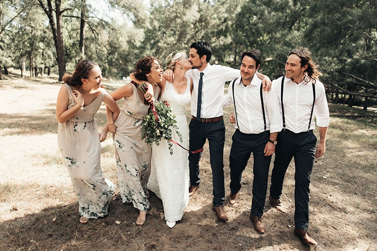 Sophie & Mark's Laid Back Boho Wedding