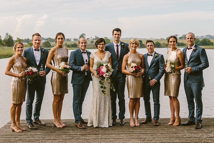 Bridal Party Outfit Ideas | Cavanagh Photography