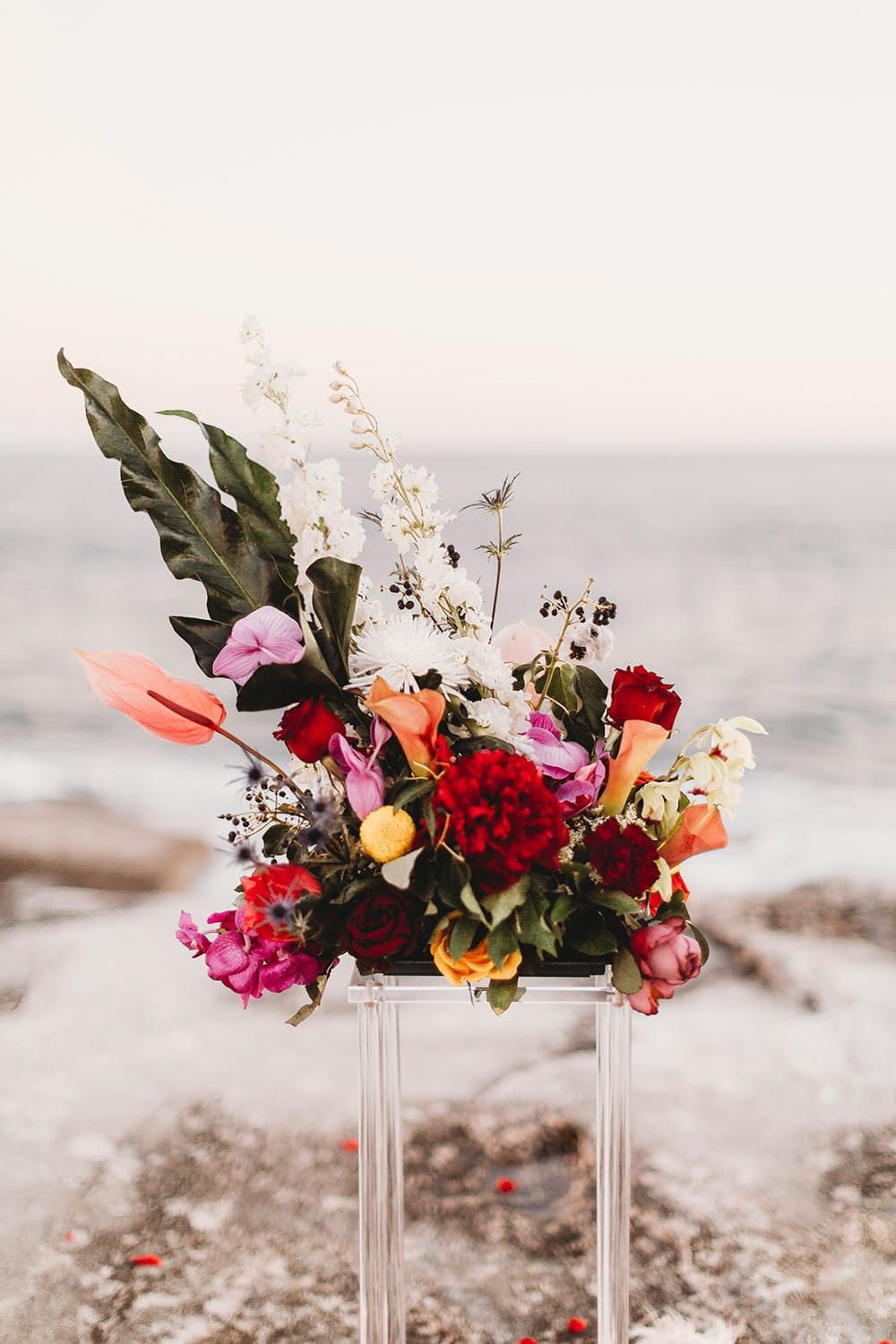 Luxe Coastal Wedding Inspiration | The Paper Fox