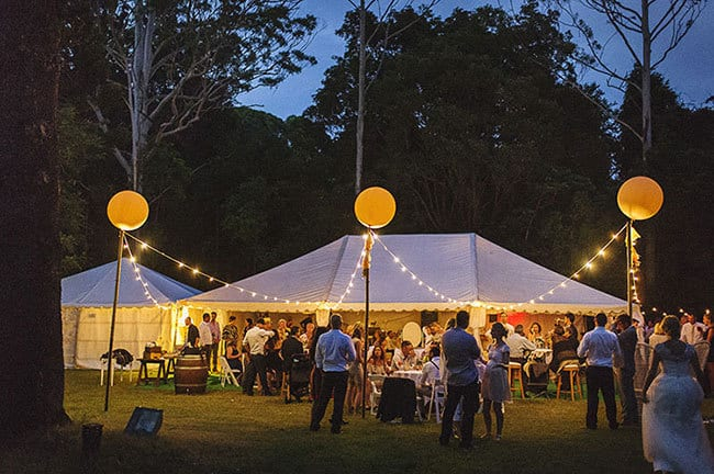 How to Host a Great Marquee Wedding