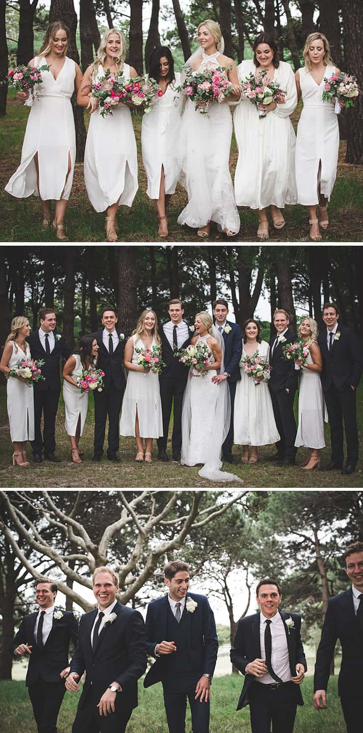 Bridal Party Outfit Ideas | Angela Rose Photography