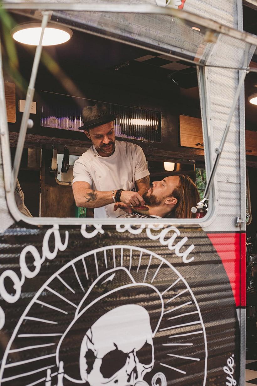 Mobile Barber Shop Gold Coast, Brisbane & Byron Bay