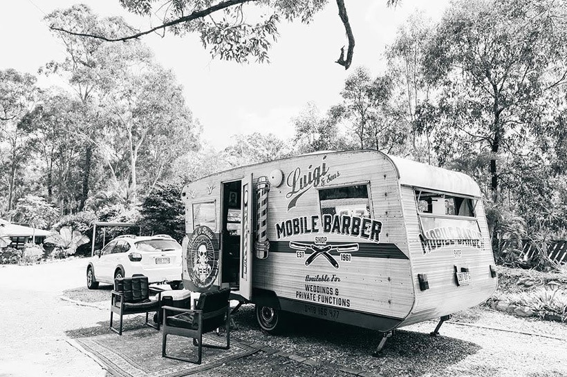 Mobile Barber Shop Gold Coast, Brisbane & Byron Bay