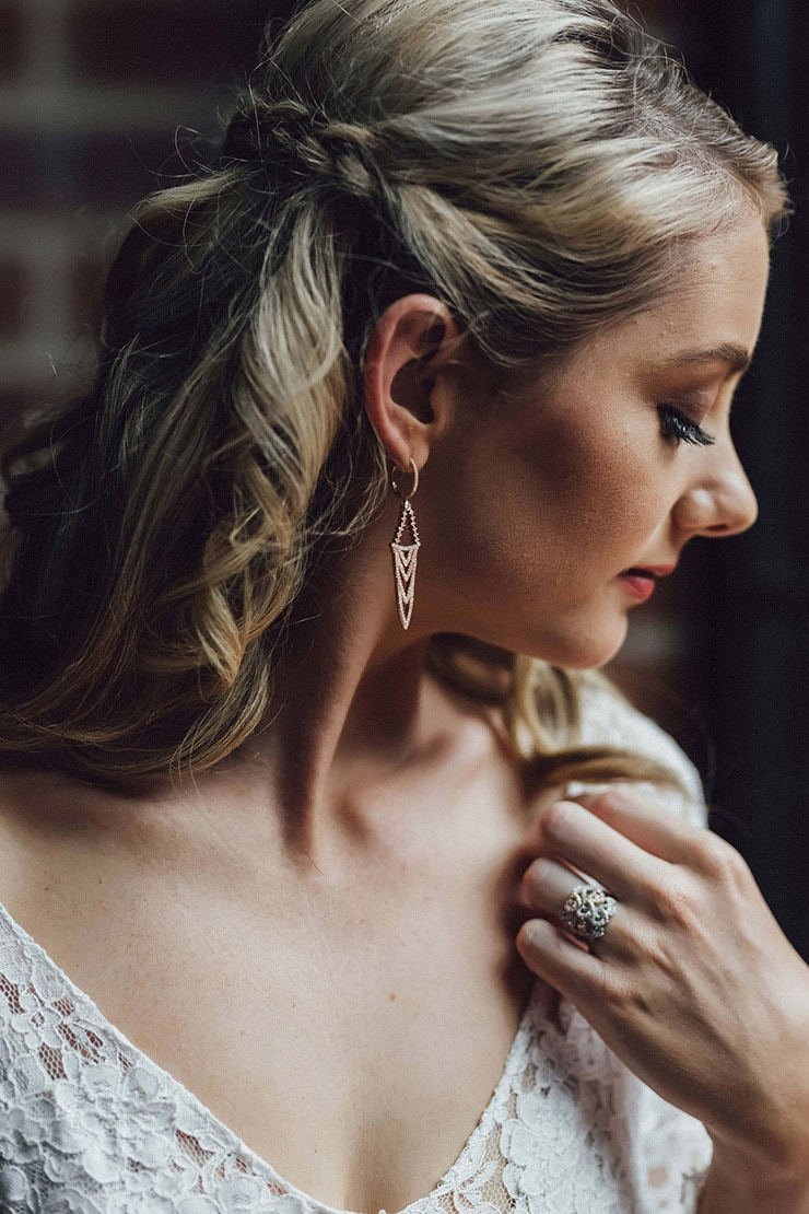 Modern Copper and Burgundy Wedding Inspiration | Raconteur Photography