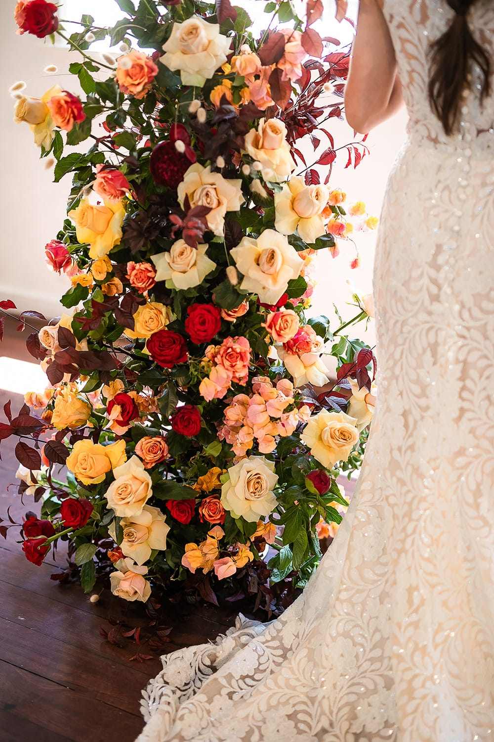 Modern Luxe Wedding Inspiration in Autumn Colours | Photography: Jason Soon Photography