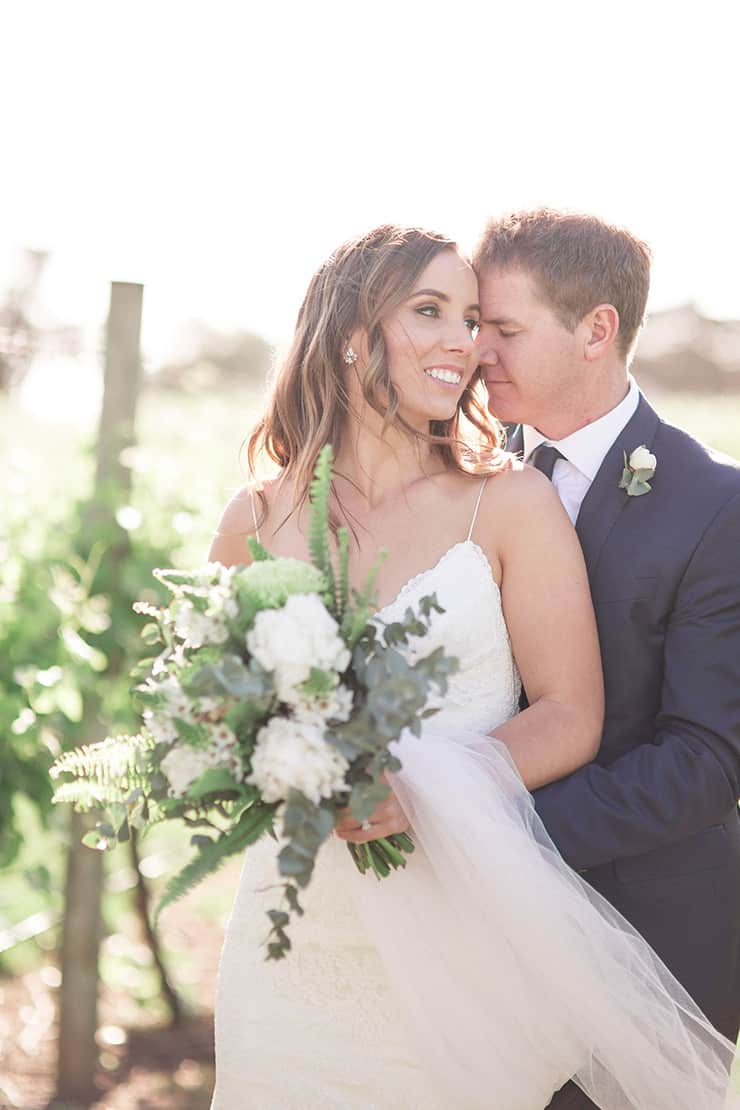A Modern Meets Rustic Winery Wedding | Jenna Fahey-White