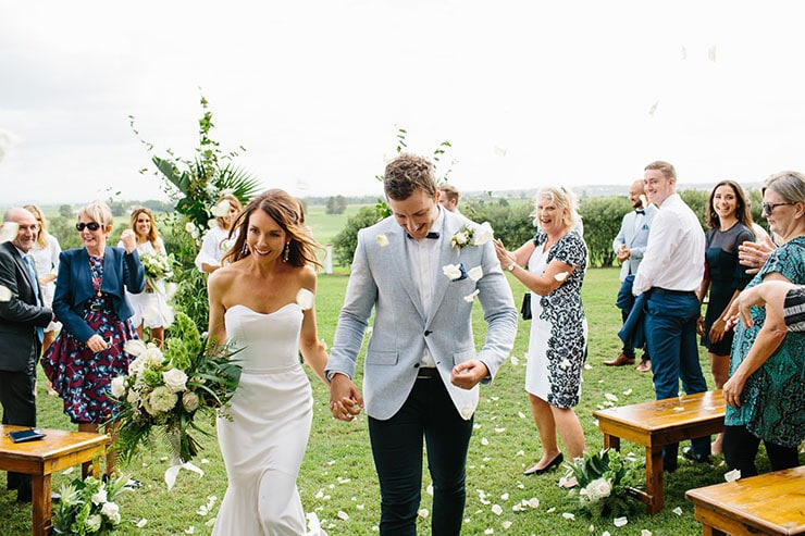 Kristen and Tom's Modern Romantic Wedding | Tim Coulson