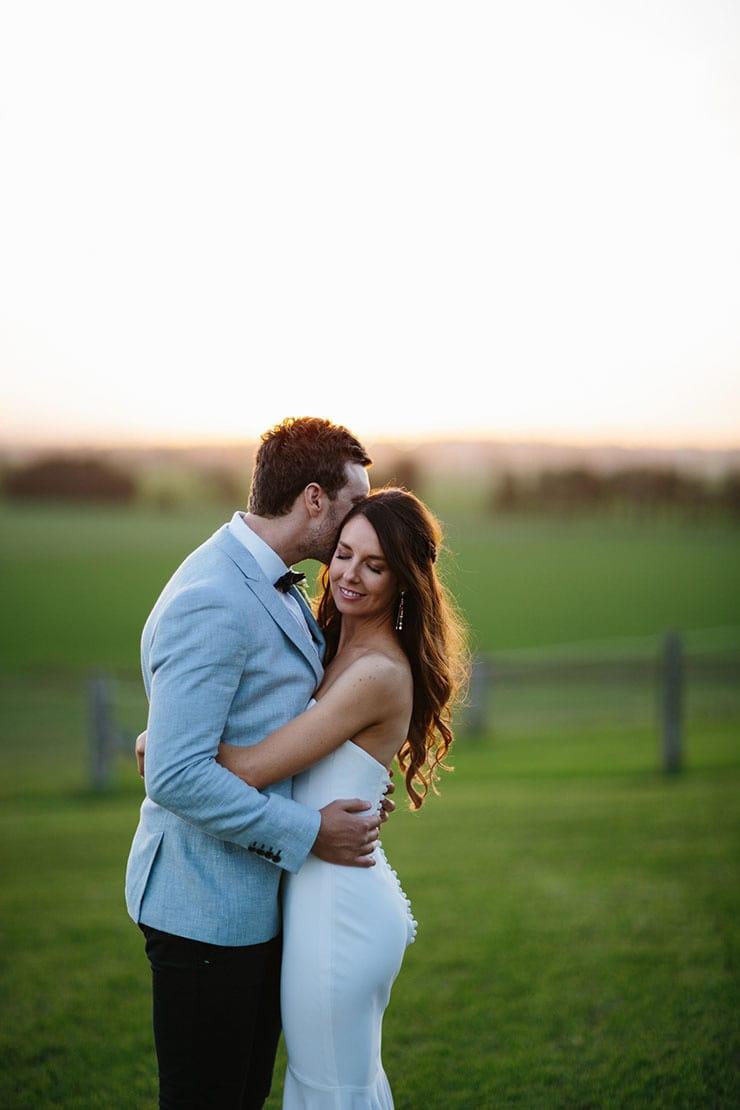 Kristen and Tom's Modern Romantic Wedding |Tim Coulson