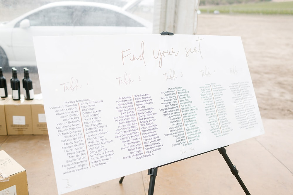 Rebecca & Josh's Modern Romantic Winery Wedding | Photography: Chloe May