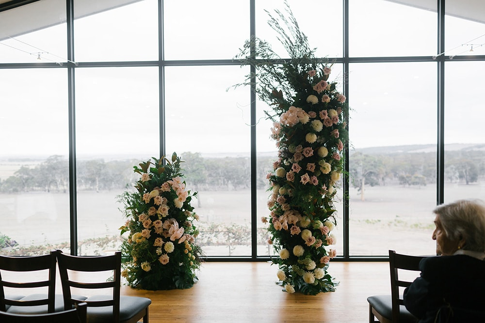 Rebecca & Josh's Modern Romantic Winery Wedding   Photography: Chloe May