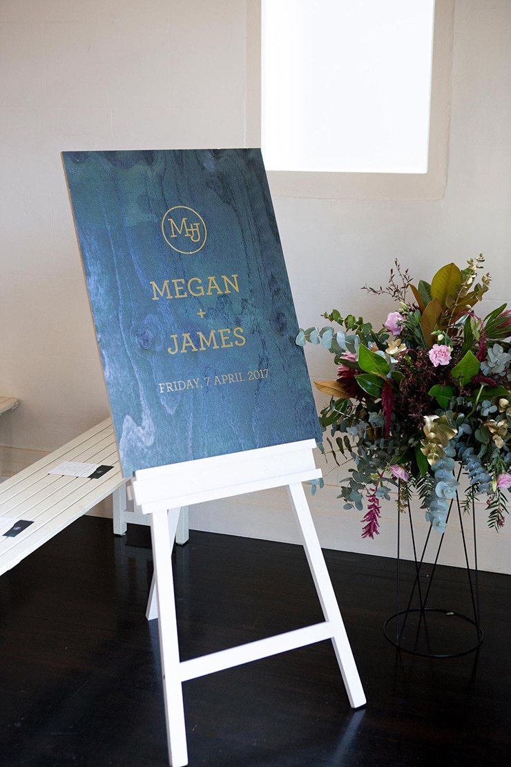Megan and James' Modern Rustic Wedding | Lamont Weddings