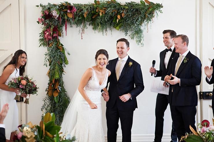 Megan and James' Modern Rustic Wedding |Lamont Weddings