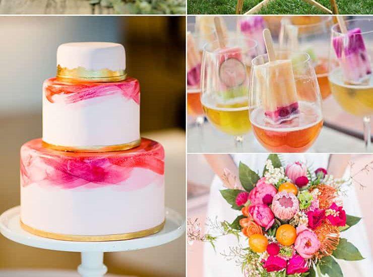 Strawberry, Orange & Lemon Wedding Inspiration