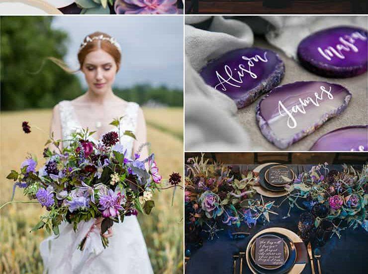 Ultra Violet Wedding Inspiration