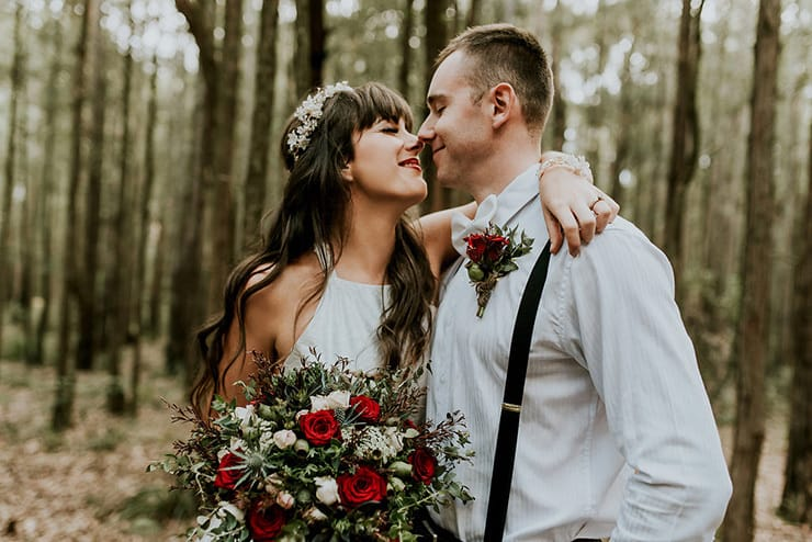 Moody Woodland Wedding Inspiration | Woodlands Creative Photography and Film