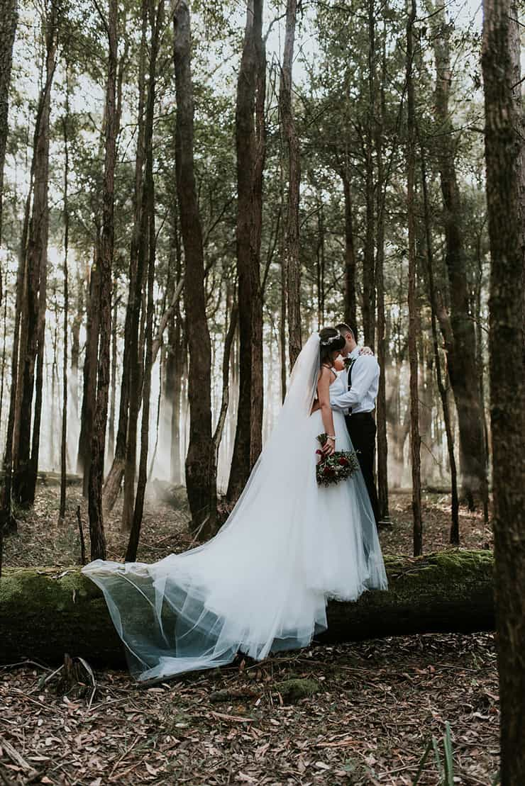 Moody Woodland Wedding Inspiration