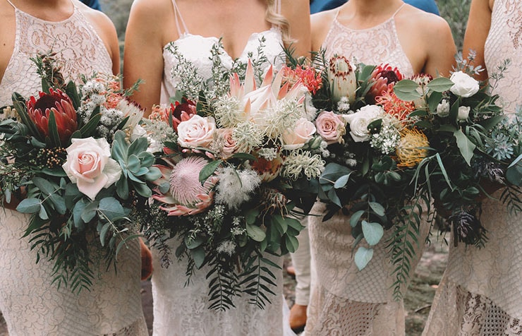 Jessica and Adam's Natural Valley Wedding |Madi Fitzgerald Photography