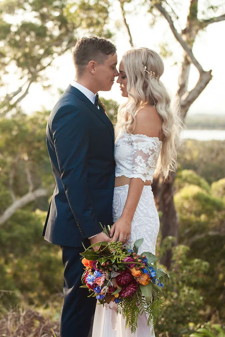 Naturally Beautiful Boho Wedding