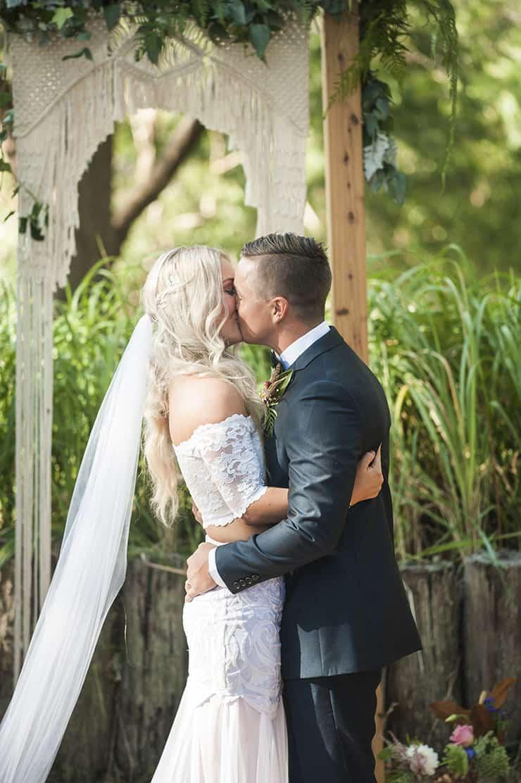 Naturally Beautiful Boho Wedding