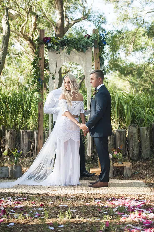 A Naturally Beautiful Boho Wedding