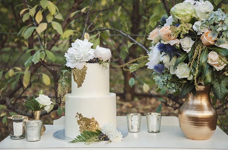 Orchard Inspired Wedding Ideas in Apricot and Plum
