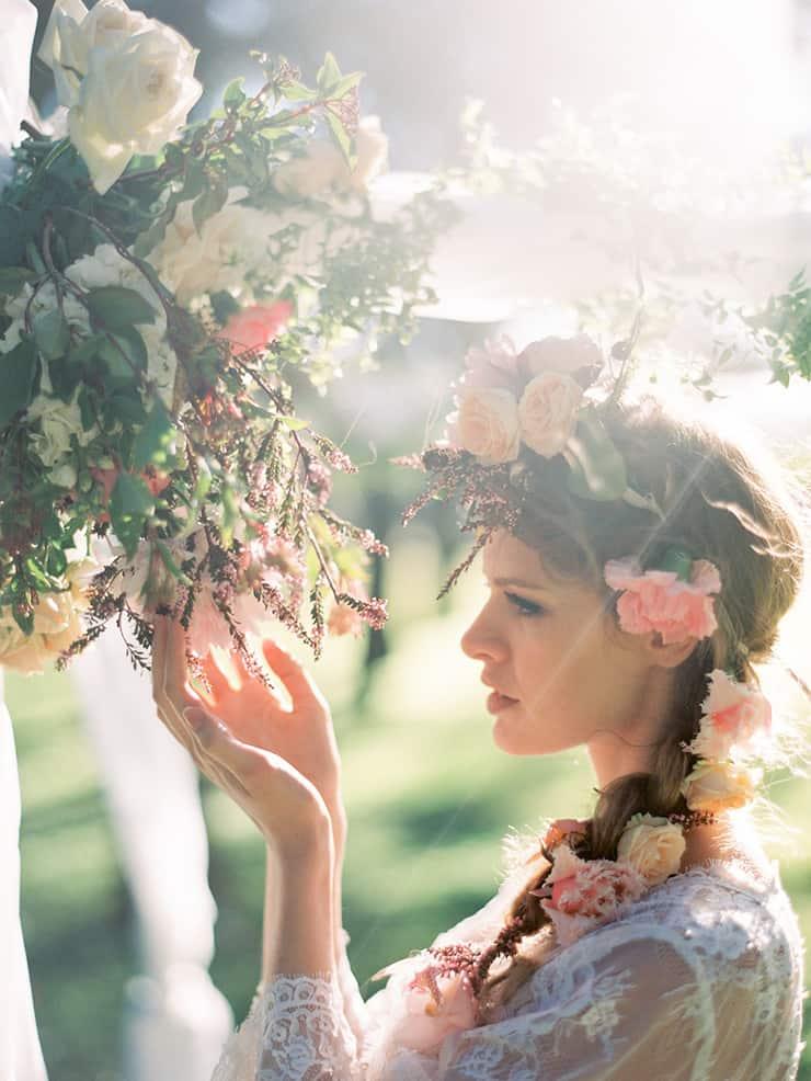 Pastel bohemian wedding inspiration