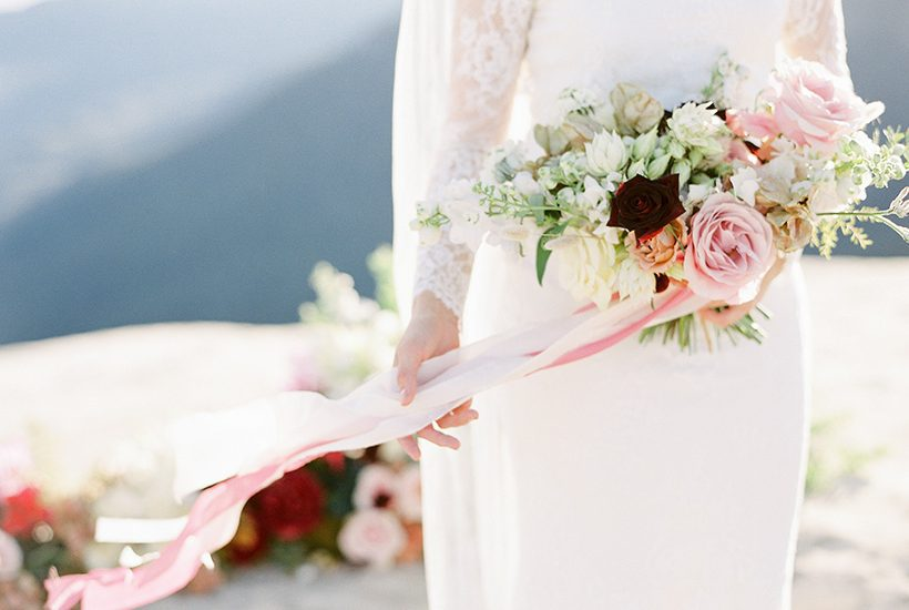 Picturesque Mountain Elopement Inspiration |We Are Origami