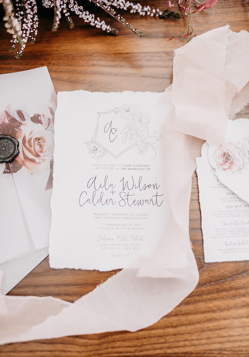 Pretty Bridal Shower Brunch Inspiration | Becky Van Straalen