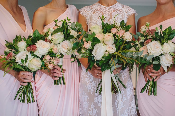 Pretty Pink and Navy City Wedding | Merge Photography