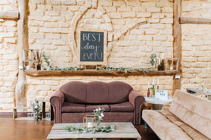 Relaxed Boho Wedding in a Charming Country Hall | Mallory Sparkles Photography