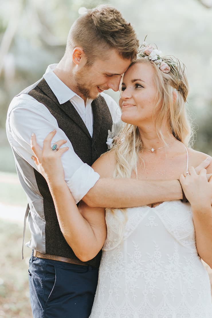 Relaxed Boho Wedding in a Charming Country Hall   Mallory Sparkles Photography
