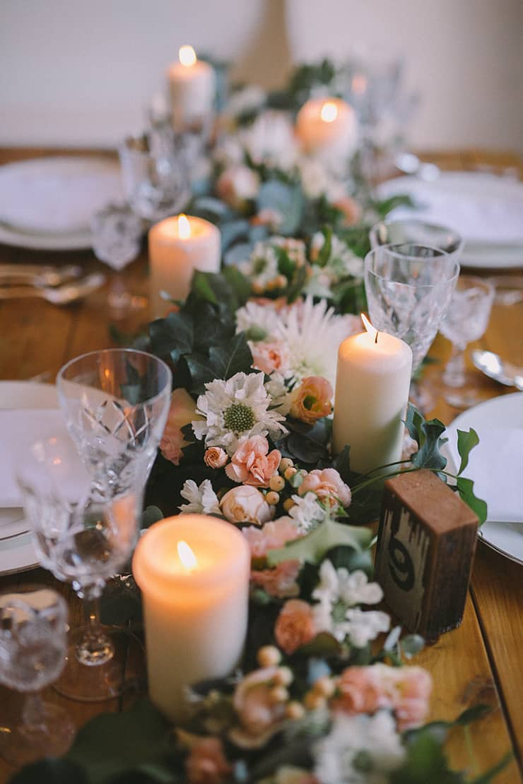 Gorgeous Wedding Reception Centrepiece Ideas | Katherine Schultz Photography