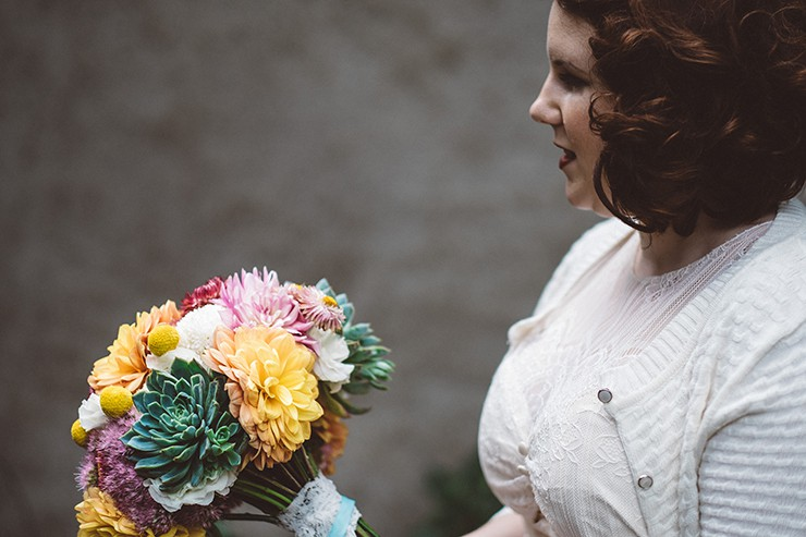 Relaxed Vintage City Wedding 10
