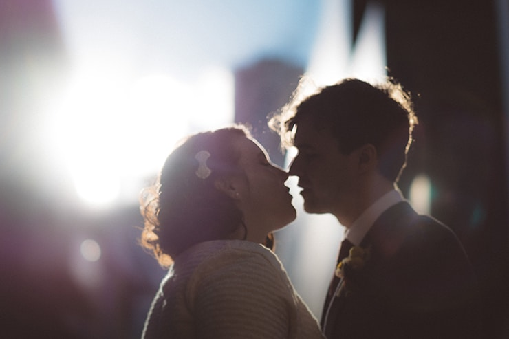 Relaxed Vintage City Wedding 11