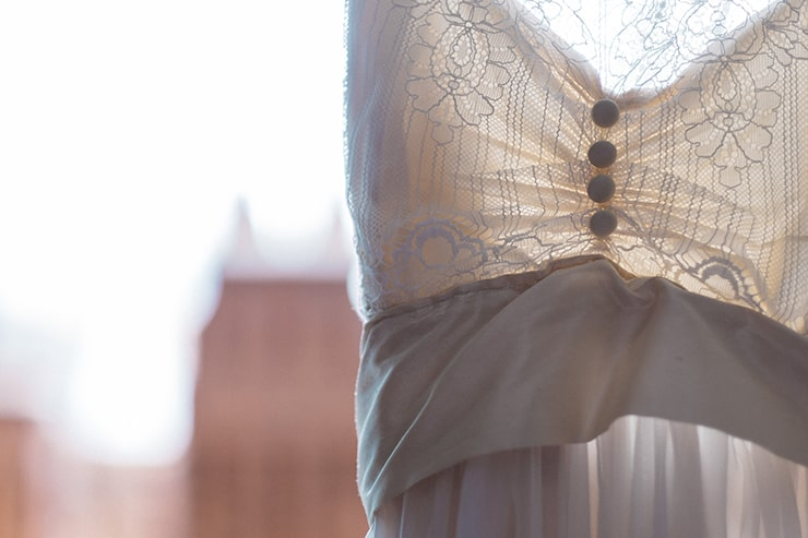 Relaxed Vintage City Wedding 12