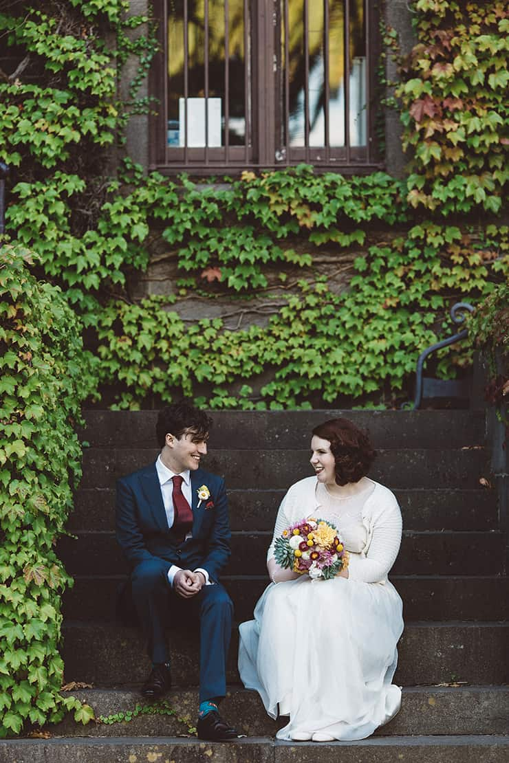 Relaxed Vintage City Wedding 13