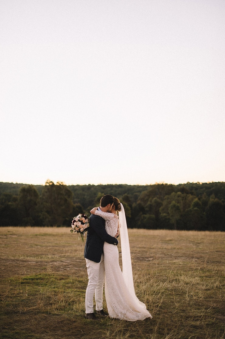 Relaxed Winter Country Wedding | Sophie Baker Photography
