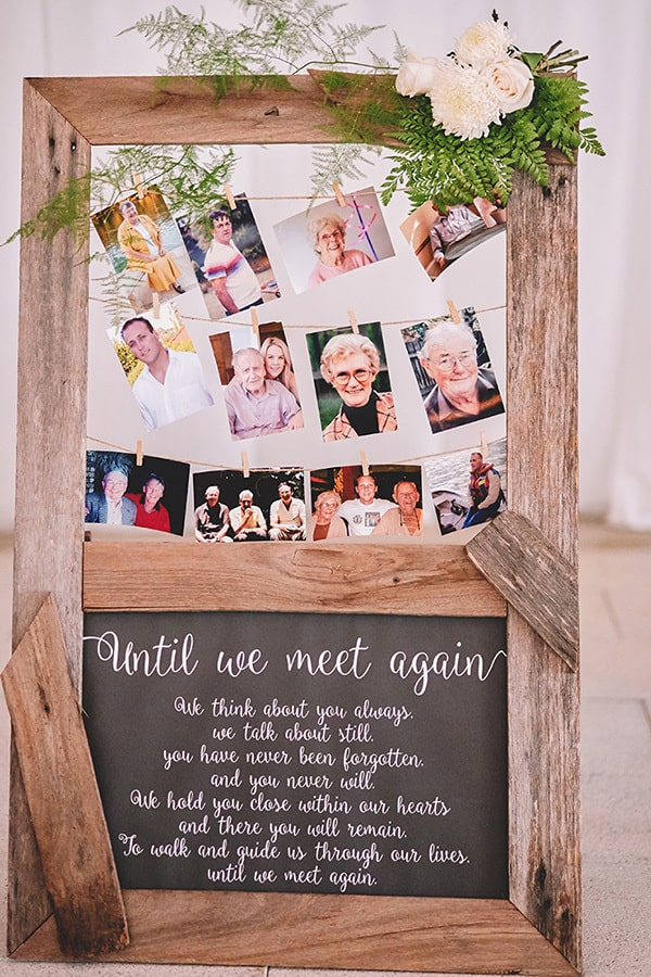 15 Ways To Remember Loved Ones At Your Wedding The