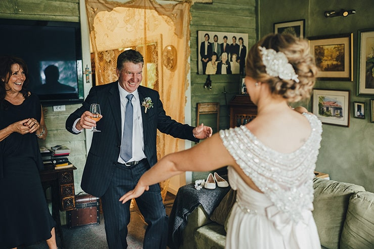 Romantic Australian Bush Wedding