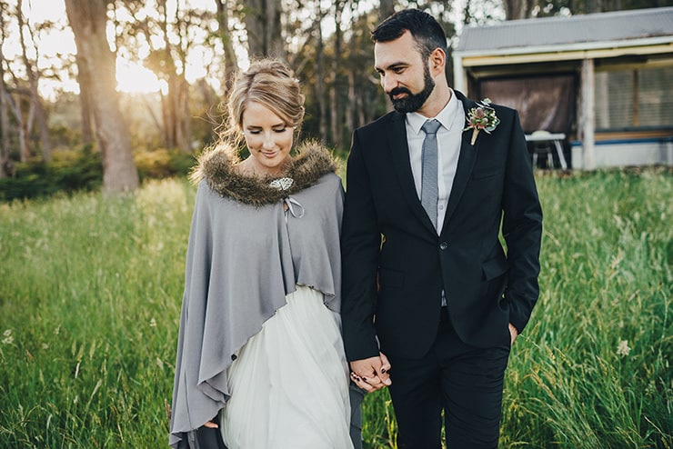 Lucy & Mat's Romantic Australian Bush Wedding