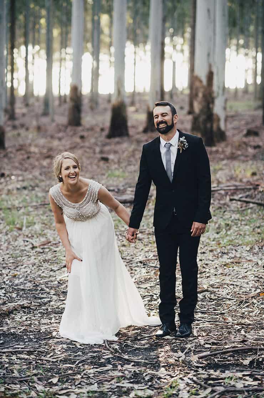Romantic Australian Bush Wedding