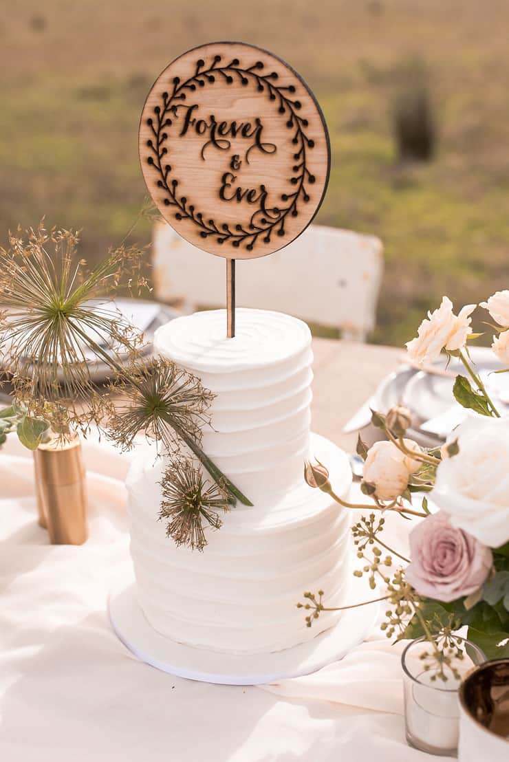 Romantic Country Wedding Inspiration with an Open Air Chapel |Michael Boyle Photography