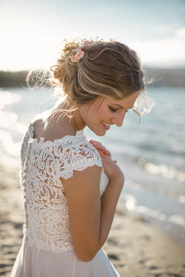 Romantic DIY Beach Wedding | With Love & Lace