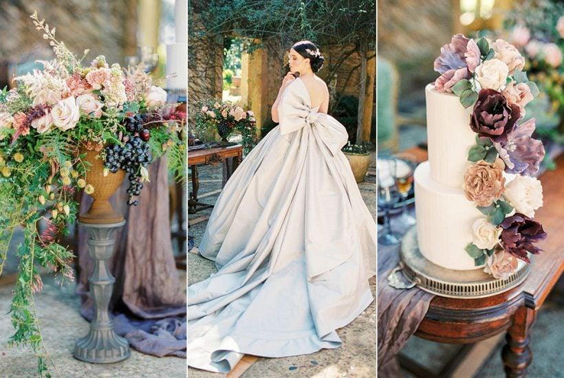 Romantic European Inspired Wedding Ideas