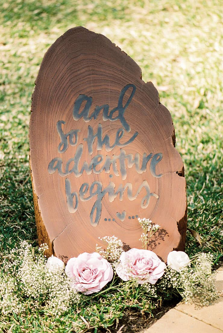 Romantic-Gold-&-Pink-Vintage-Wedding-Adventure-Begins-Sign