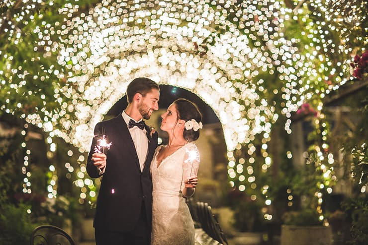 Alex & Matt's Romantic Restaurant Wedding