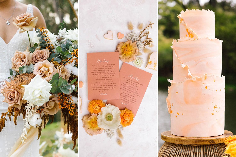 Romantic Riverside Boho Wedding Inspiration | Photography: Poppy and Sage